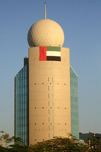 One of the new buildings - Dubai, UAE ... December 4, 2006 ... Photo by Rob Page III