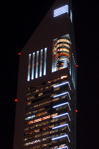 The Emirates Office Tower - Dubai, UAE ... December 4, 2006 ... Photo by Rob Page III