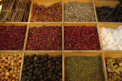 The very aromatic spice souq - Dubai, UAE ... December 4, 2006 ... Photo by Rob Page III