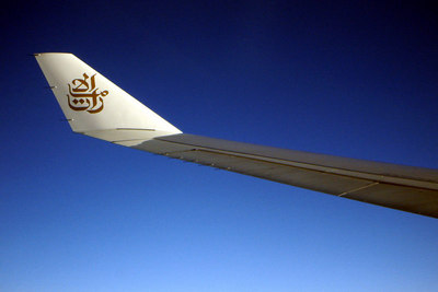 Emirates Air.  This was one of the best flying experiences that I have ever had. - December 5, 2006 ... Photo by Rob Page III