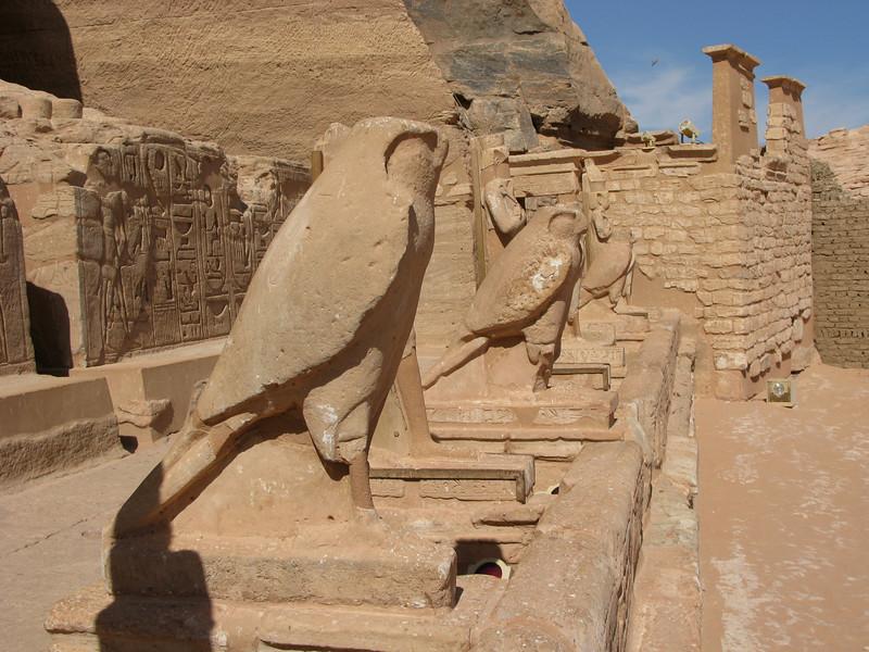 Horus at Abu Simbel (Ramesses II Temple Entrance)