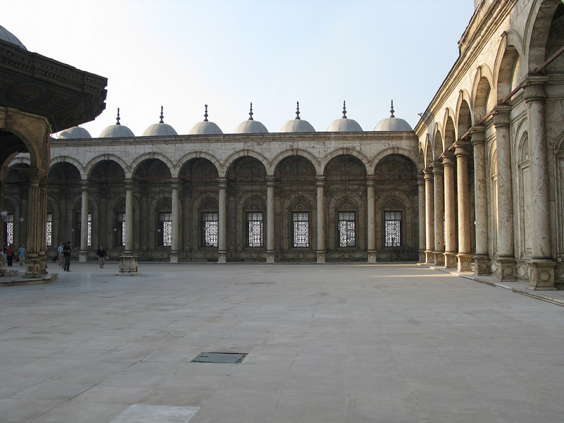 Courtyard of the Mohammed Ali Mosque