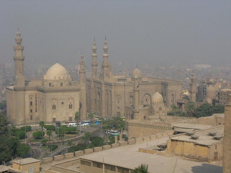 Parts of Cairo Surrounding the Citadel of Saladin