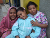 Luxor local children - take a picture and Bashish, Bashish.