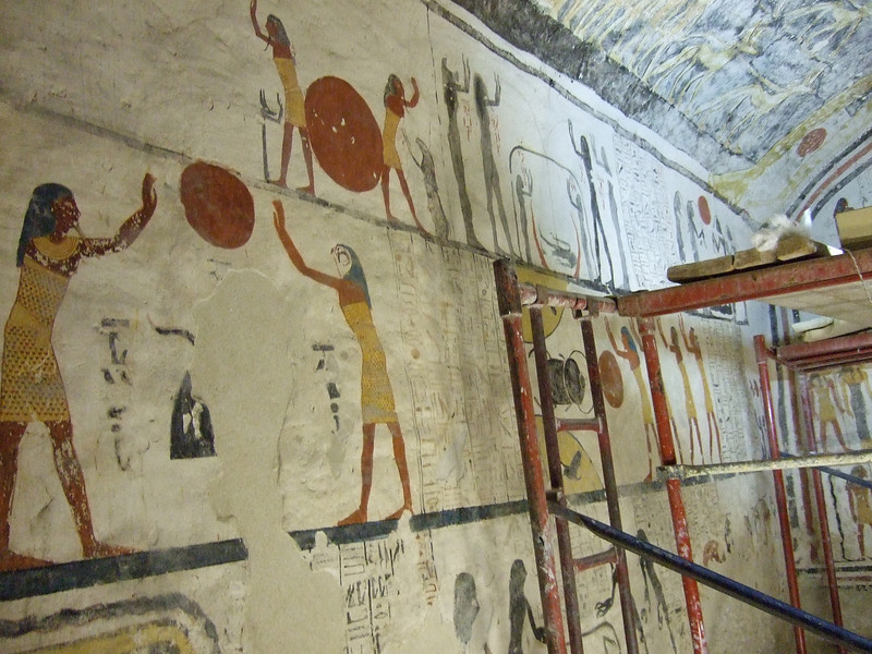 Inside the Tomb of Ramses IX