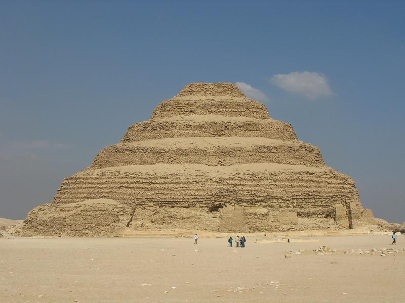Stepped Pyramid at Saqqara circa 2700 BC