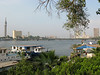 Bridge across the Nile RIver near the Semiramis Intercontinental Cairo