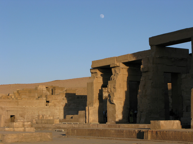 The Moon over the Temple of Sobek Then