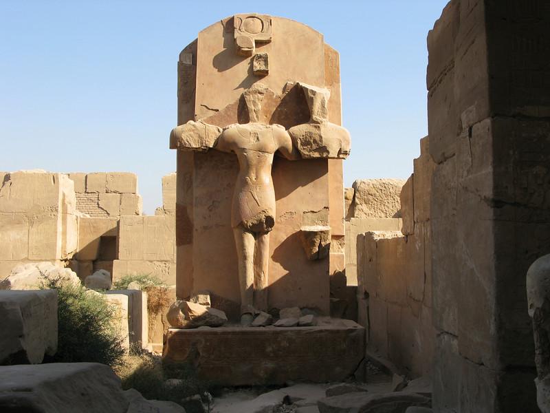 Statue at Karnak Temple