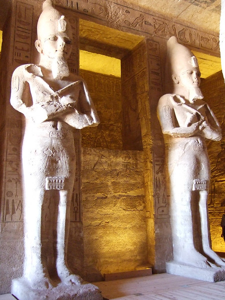 Inside the Main Chamber at Abu Simbel