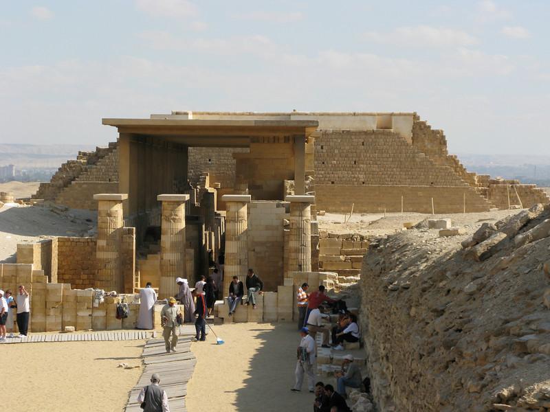 Stone Construction at Saqqara (2700 BC)