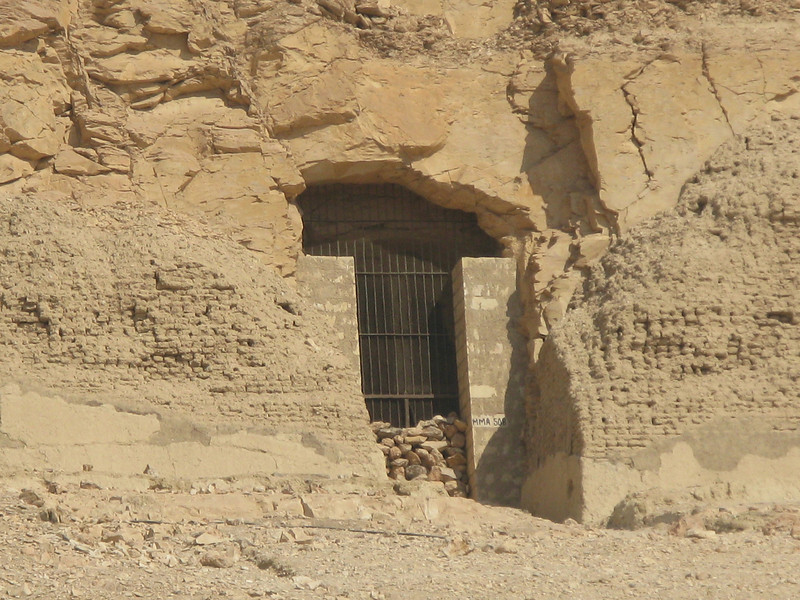 Tomb in the cliff in the vicinity of Queen Hatshepsut's Temple