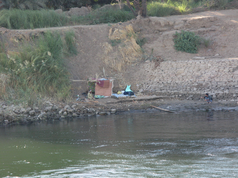 Life can be hard on the Nile River