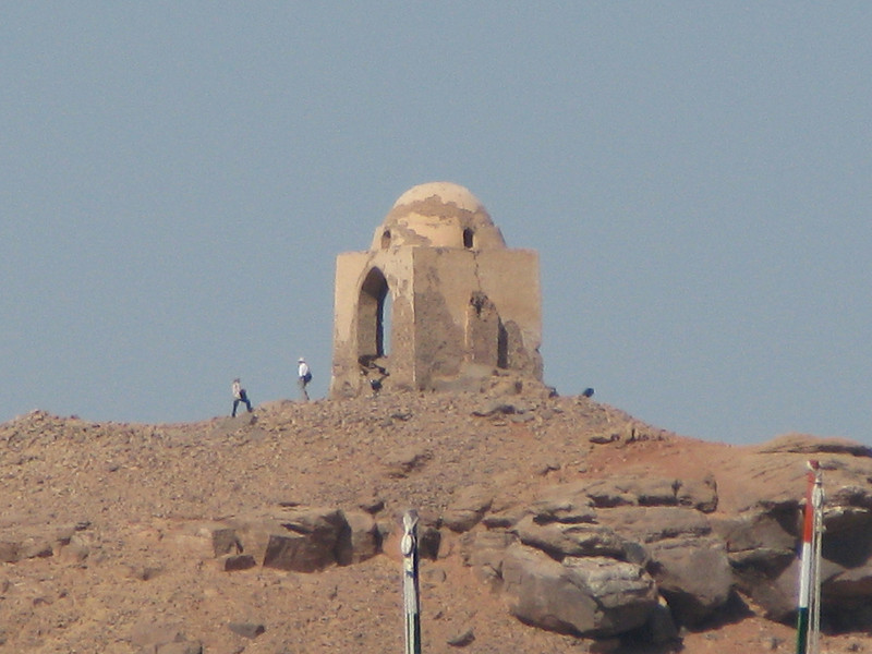 Tomb of the Aga Kahn from the Sun Deck of the M/S Miriam