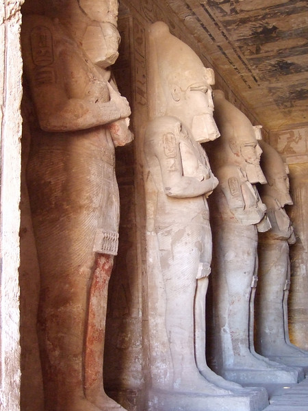 Inside the Main Chamber at Abu Simbel