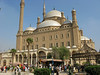 Approaching the Mohammed Ali Mosque in Cairo