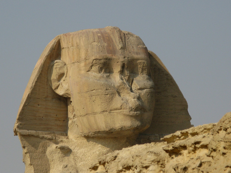 Head of the Sphinx at Giza