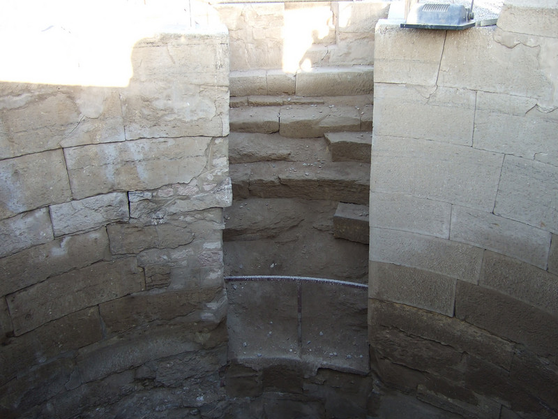 Stairs to the Measuring CHamber