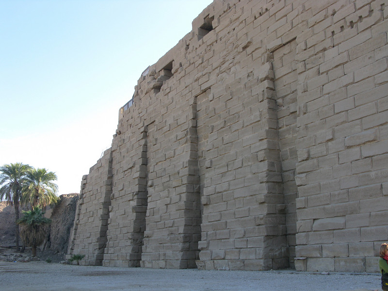 Karnak Temple (Luxor) Outside Wall