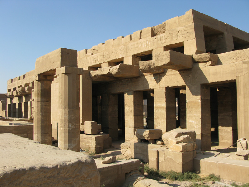 Karnak Temple grounds in Luxor