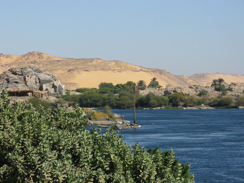 The Sahara and Nile