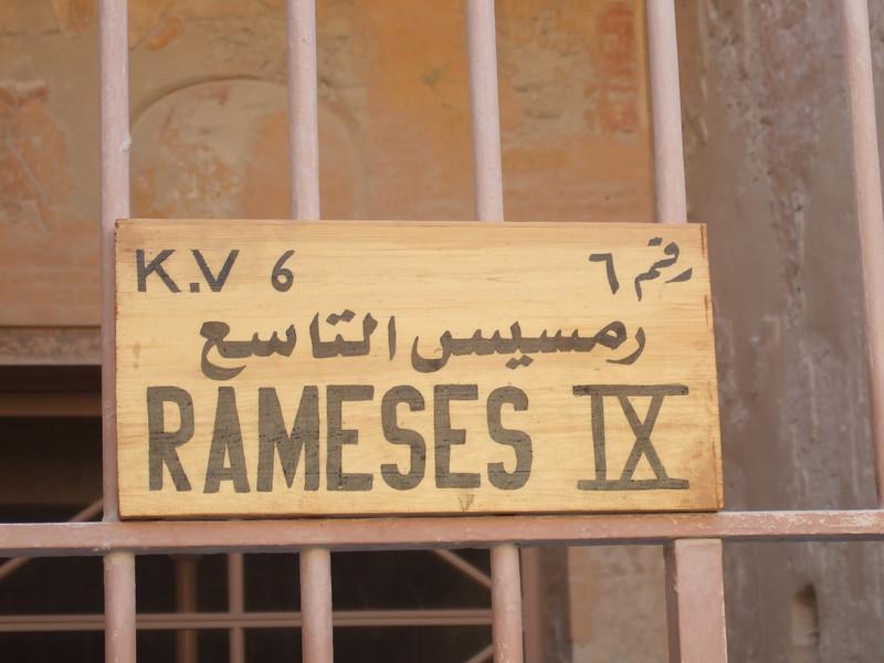 Tomb of Ramses IX