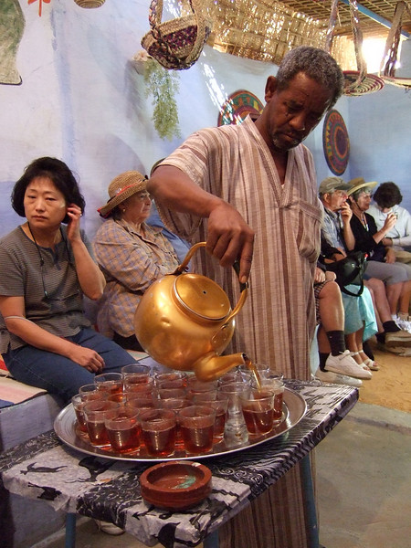 Tea at the Home of a Nubian Village Family