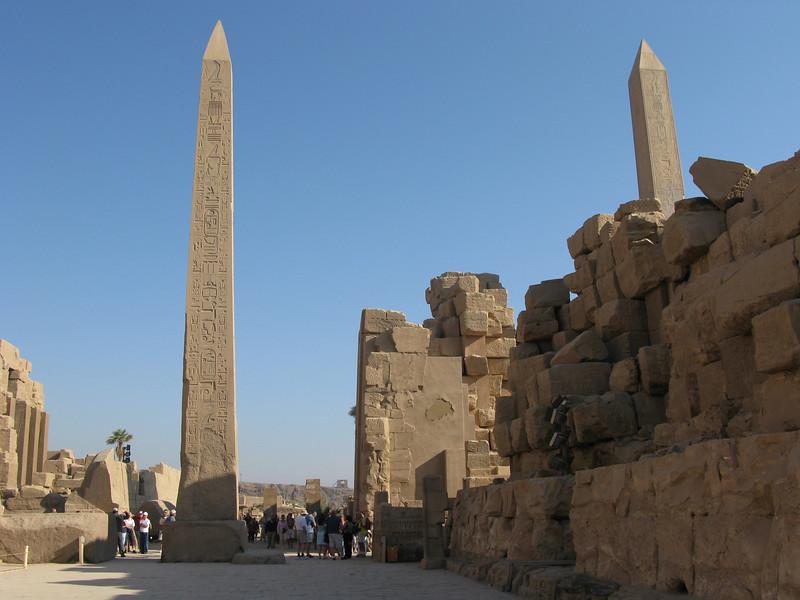 Obelisk in Karnak Temple in Luxor