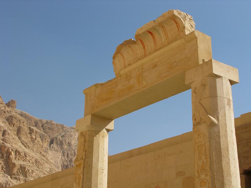 Ruins at Queen Hatshepsut's Temple
