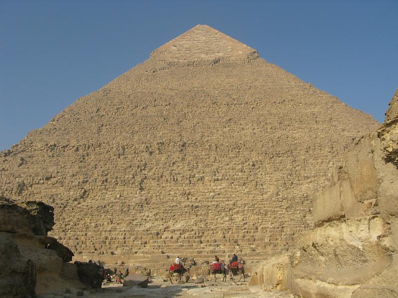 Pyramid of Chephren at Giza