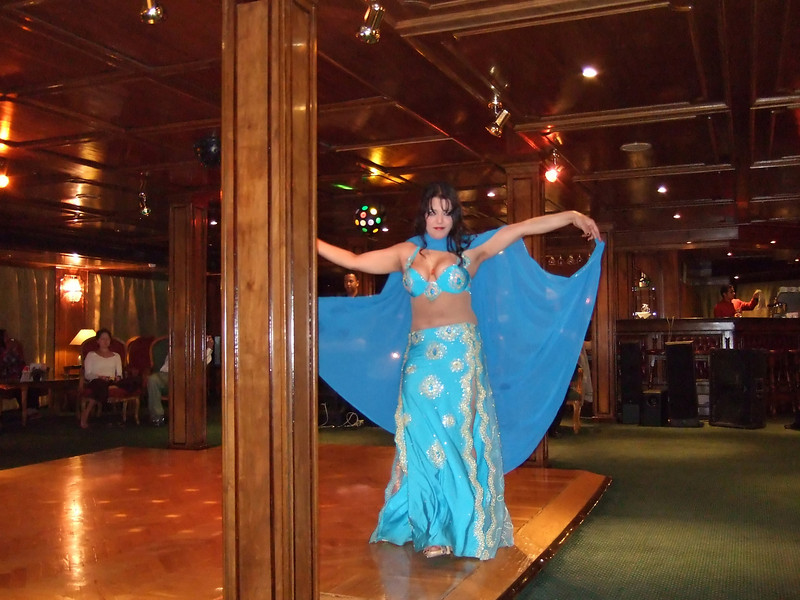 Belly Dancer on her second Night