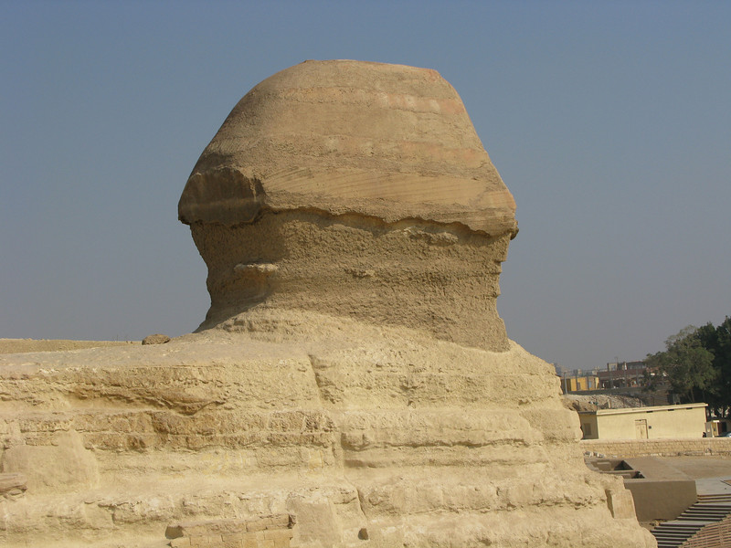 Sphinx of Giza from the side