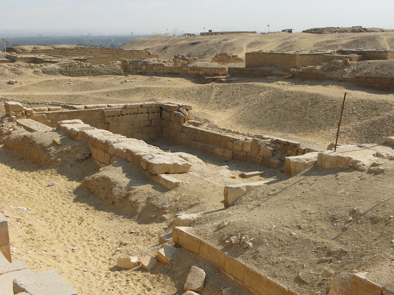 Excavation Work around Saqqara