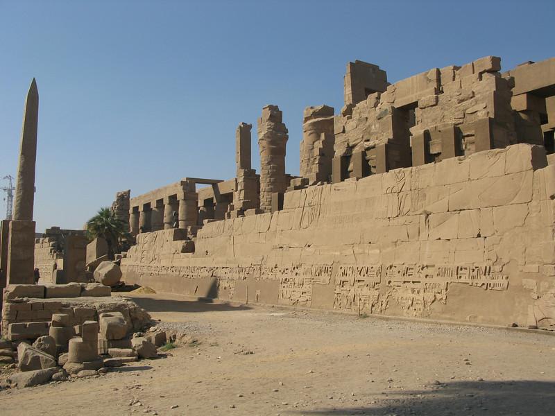 Karnak Temple in Luxor circa 2000 BC