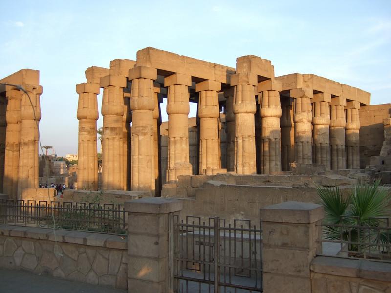 Luxor Temple Columns circa 550 BC