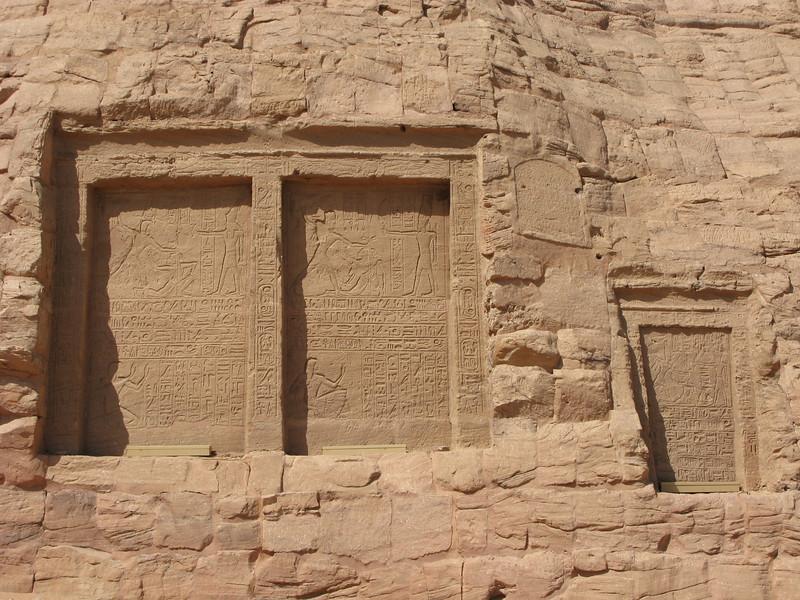 Abu Simbel Wall Inscriptions