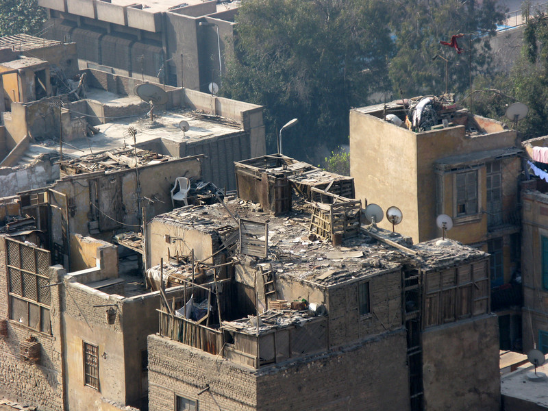 Cairo surrounding the Citadel of al-Saladin