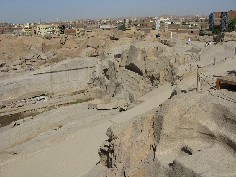 The Granite Quarry of the Unfinished Obelisk and Surroundings