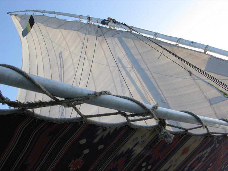 Cruising on a Felucca (Sailboat)