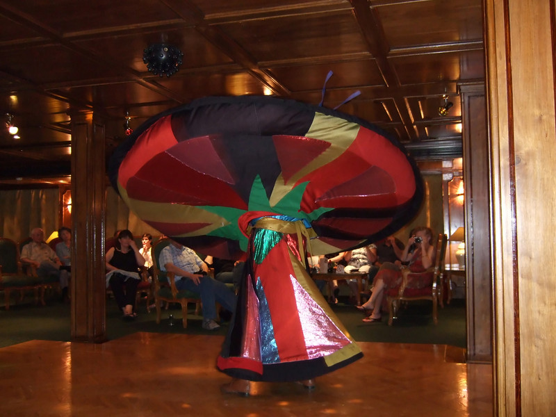 Whirling Dervish on the M/S Miriam