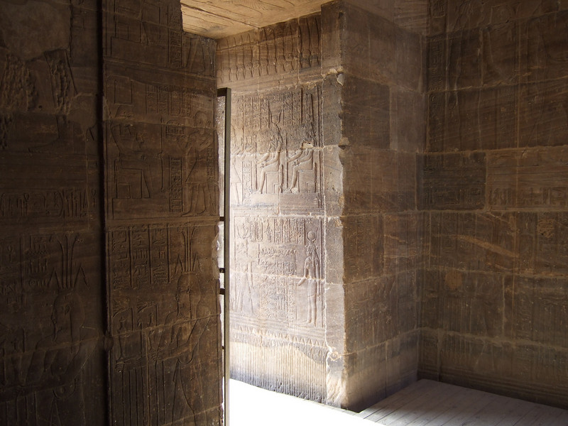 Chamber inside the Philae Temple
