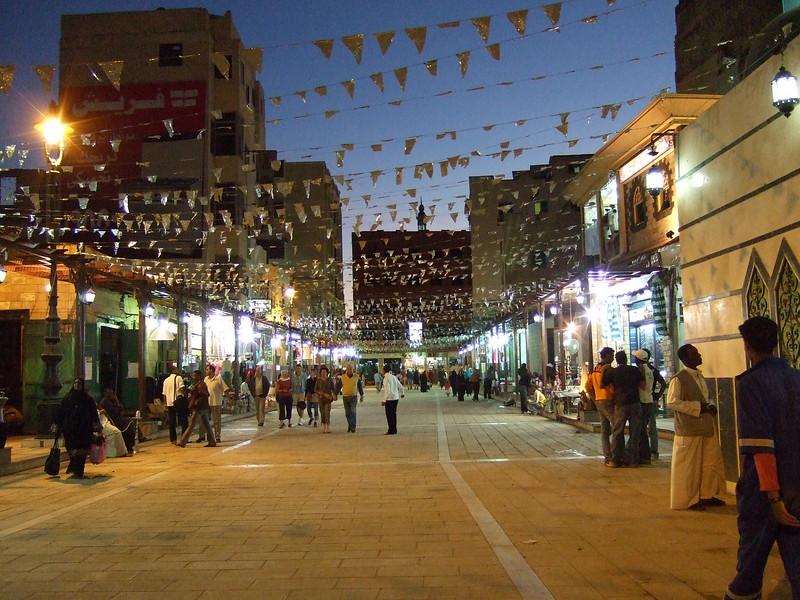 Night is Falling at the Aswan Bazaar