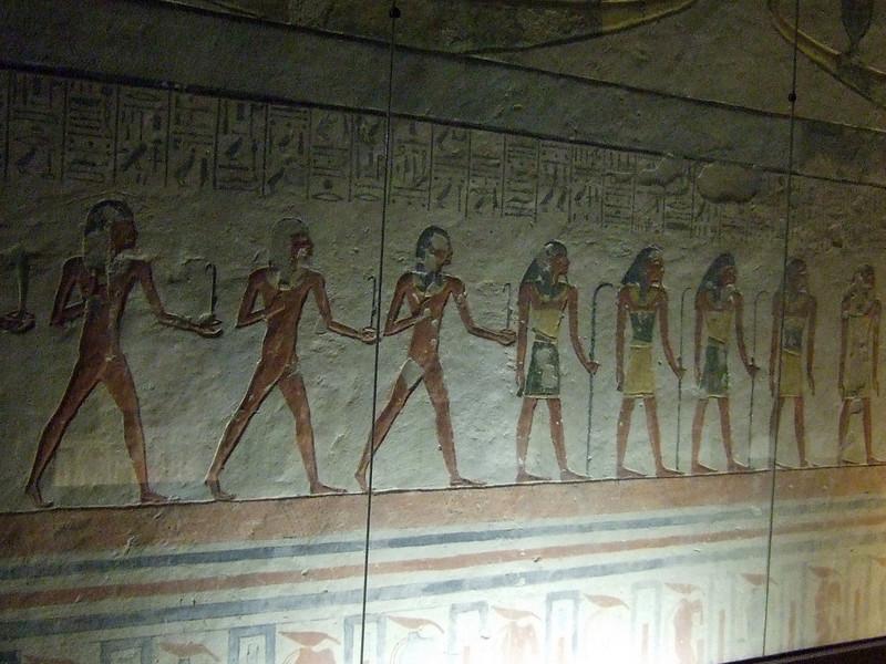 Inside Tomb of Ramses IX