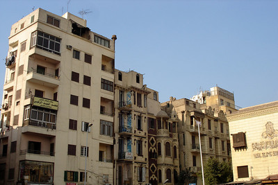 Apartments next to Khan Al-Khalili - Cairo, Egypt ... November 21, 2006 ... Photo by Emily Conger