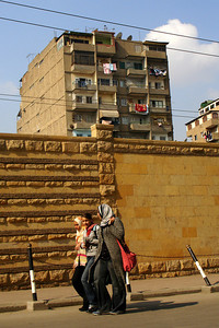 The city streets of Cairo - Cairo, Egypt ... November 21, 2006 ... Photo by Rob Page III
