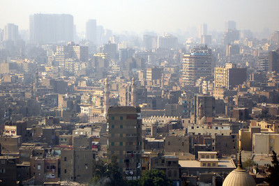 The chaos that is Cairo.  This is from the Citadel - Cairo, Egypt ... November 22, 2006 ... Photo by Rob Page III
