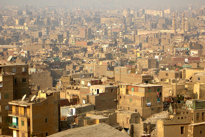 The chaos that is Cairo from the Citadel - Cairo, Egypt ... November 22, 2006 ... Photo by Rob Page III