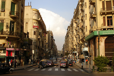 THe streets of Cairo - Cairo, Egypt ... November 30, 2006 ... Photo by Rob Page III