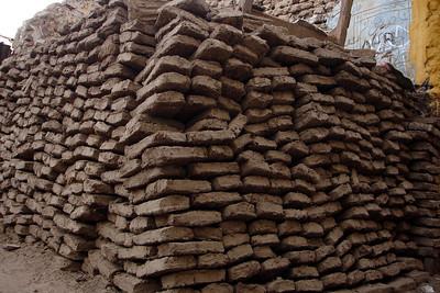 Bricks from a house on Elephantine Island - Aswan, Egypt ... November 25, 2006 ... Photo by Rob Page III