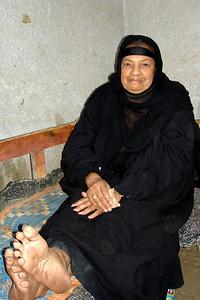 A woman enjoying the evening on Elephantine Island - Aswan, Egypt ... November 25, 2006 ... Photo by Emily Conger